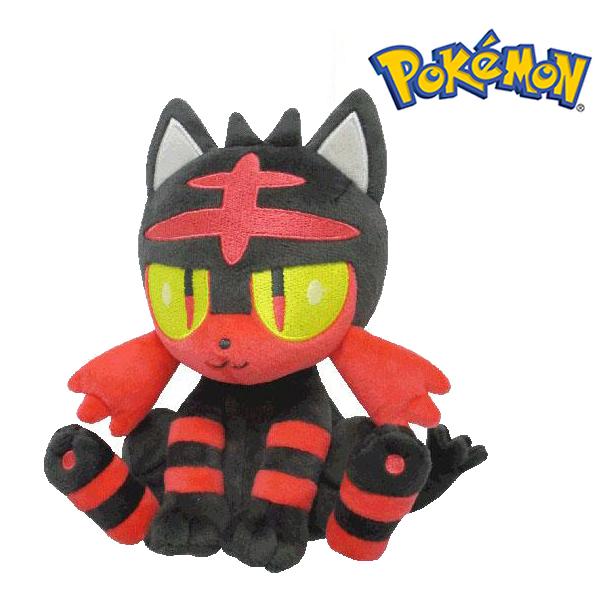 火斑喵 絨毛玩偶 娃娃 Pokemon 寶可夢 神奇寶貝 S號 日本正品 該該貝比日本精品 ☆