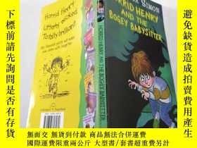 二手書博民逛書店horrid罕見henry and the bogey babysitter :可怕的亨利和那個可怕的保姆 .