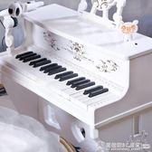 六一兒童節禮物61兒童電子琴初學者帶麥克風鋼琴寶寶女男孩玩具    《橙子精品》