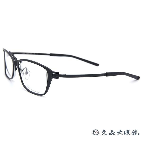 999.9 日本神級眼鏡 S-825T 10 (黑) 復古方框 近視眼鏡 久必大眼鏡