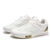 PONY 休閒鞋 MONTREAL 白底 黑黃條紋 輕量 百搭 女 (布魯克林) 82W1MO01RW