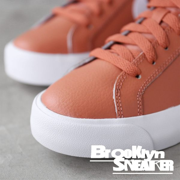Nike Court Royale AC 白 豆沙紅 皮革 休閒鞋 女(布魯克林) AO2810-200