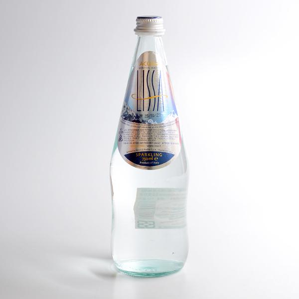 義大利【Lissa】氣泡礦泉水(玻璃)750ml(賞味期限:2021.10.28)