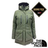 【THE NORTH FACE 美國】 女 單件式Gore-Tex雪衣外套 (綠色) NF0A367M 防潑水 防風 保暖 露營