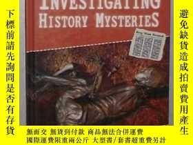 二手書博民逛書店英文原版罕見Investigating History Myst