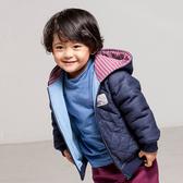 【愛的世界】鋪棉小狐狸牛仔連帽長袖外套/4歲-台灣製- ★秋冬外套
