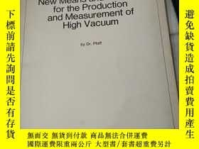 二手書博民逛書店New罕見Means and Methods for the P