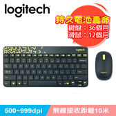 Logitech 羅技 MK240 NANO無線鍵鼠組 黑色【送束口收納袋】