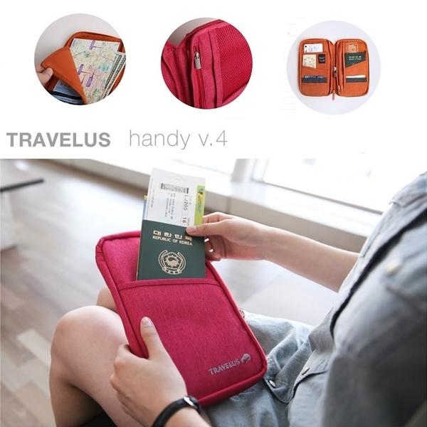 韓國 旅行手拿包 護照夾 長夾 小飛機多功能帆布旅行 長短款 化妝包 收納包 行李箱 【RB378】