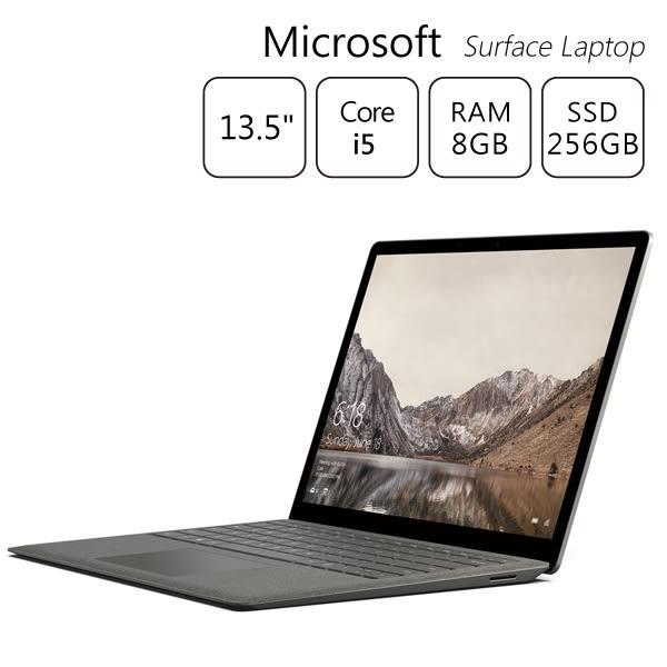 【送微軟無線投影棒】墨金色 ~ Microsoft Surface Laptop i5 8G 256G 13.5吋筆電