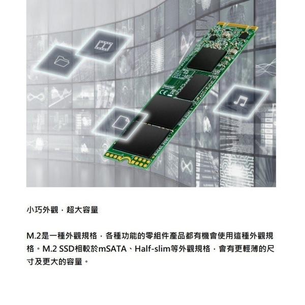 新風尚潮流 【TS256GMTS830S】 創見 固態硬碟 256GB SATA 3 M.2 2280 SSD 830S
