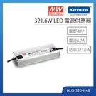 明緯 321.6W LED電源供應器(HLG-320H-48)
