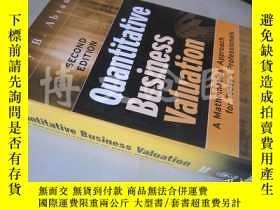 二手書博民逛書店Quantitative罕見Business Valuation