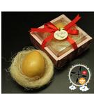 圓滿金蛋香皂彌月禮盒 (1入)+招財進寶立體3D卡5X9cm【十方佛教文物】