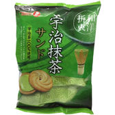 日本【寶製果】宇治抹茶夾心奶油餅 85g
