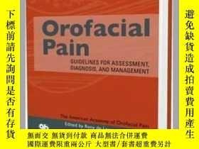 二手書博民逛書店Orofacial罕見Pain: Guidelines for Assessment, Diagnosis, an