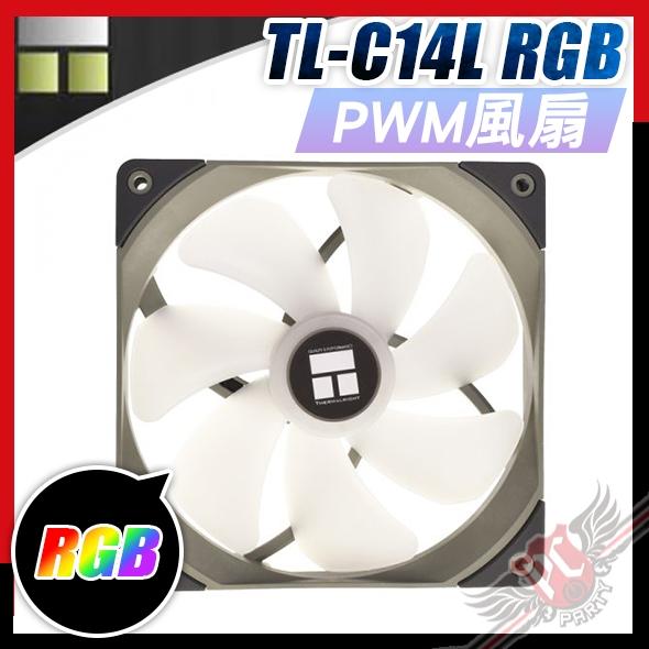 [ PCPARTY ] 利民 Thermalright TL-C14L 14公分 風扇 RGB 4pin 12V