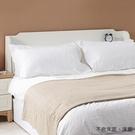 【森可家居】英式小屋5尺床頭箱 10JX338-1 雙人 白色 收納 附插座 北歐鄉村風 MIT台灣製造
