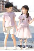 兒童演出服 兒童演出服舞蹈服男女童漢服夏裝古裝中國風合唱幼兒園錶演服 夢藝家