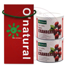 純天然整顆蔓越莓乾(每罐210公克)禮盒...