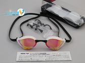 *日光部屋* arena (公司貨)/AGL-240M-ORPW 競泳/擾流/低阻/鍍膜/小鏡面泳鏡
