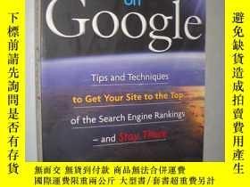 二手書博民逛書店Get罕見to the Top on Google by Dav
