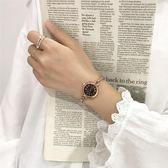 閨蜜手錬手錶女小巧中學生簡約韓版百搭復古錬條氣質小錶盤學院風  9號潮人館