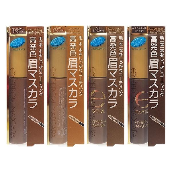 日本 Excel 自然染眉膏(21g含裝) 多款可選【小三美日】