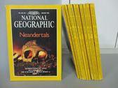 【書寶二手書T7/雜誌期刊_RIS】國家地理雜誌_1996/1~12月合售_Neandertals等_英文版