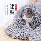 寵物貓咪吸水毛巾狗浴巾大號速干大小型犬洗澡【小獅子】