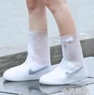 雨鞋套防水下雨天鞋子防水套防雨腳套加厚防滑耐磨底男女防水鞋套【小艾新品】