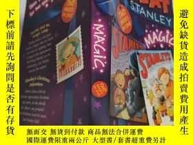 二手書博民逛書店flat罕見Stanley magic 史丹利魔術Y200392