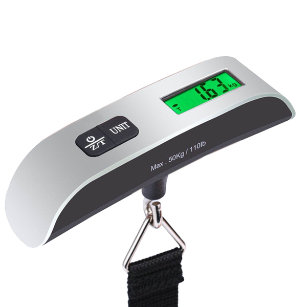 ★7-11限今日299免運★ 行李秤 便攜式 出國必備 電子秤 50kg 帶溫度計 【F0228】