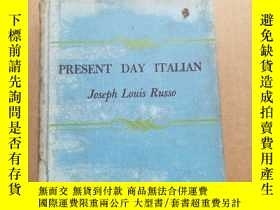二手書博民逛書店PRESENT罕見DAY ITALIANY17747 JOSEPH LOUIS RUSSO D.C. HEAT