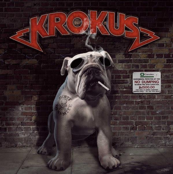 克羅卡斯樂團 超級破壞王 CD Krokus / Dirty Dynamite (音樂影片購)