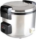 (電壓:110V) 聖象牌 50人份 電子鍋 台灣製造 煮飯兼保溫 不銹鋼色 6公升大容量