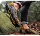 登山鞋 山地越野營登山跨境網面速干涉水大碼戶外徒步遠行無所畏懼男跑鞋 霓裳細軟
