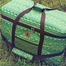 丹大戶外【KAZMI】經典民族風裝備收納袋(100l) 綠 保護袋/提袋/防塵袋/大型工具袋/裝備袋 K4T3B009