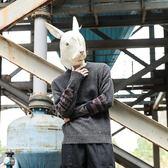 毛衣/針織衫 冬季新款圓領毛衣男復古民族風修身拼色韓版潮套頭上衣 High酷樂緹
