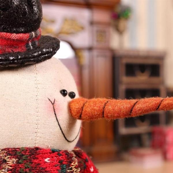 聖誕節飾品裝飾裝飾品場景布置聖誕擺件雪人道具老人公仔娃娃玩偶WD 檸檬衣捨