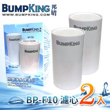 【買BETTER】BumpKing邦晴除氯淨水器濾心BP-F10(龍頭式BP-WF101專用)2入★送6期零利率