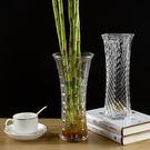 創意家居飾品透明玻璃小花瓶擺件鮮花乾花水...