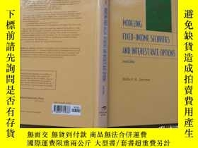 二手書博民逛書店Modelling罕見Fixed Income Securities And Interest Rate Opti