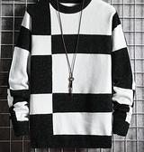 針織上衣 春季毛衣男士圓領潮流打底針織衫加絨加厚保暖上衣服冬裝【快速出貨八折鉅惠】