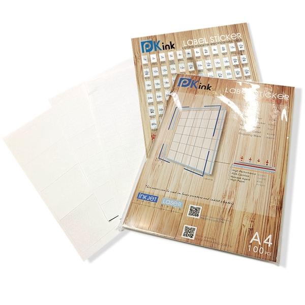 Pkink-多功能A4標籤貼紙30格(100張/包)/超商貼紙/貨運貼紙/拍賣條碼貼