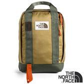 【THE NORTH FACE 美國】中性 TOTE 雙肩電腦背包14.5L『ENX 黃卡其/灰綠』NF0A3KYY 背包 旅行 電腦包