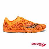 SAUCONY ENDORPHIN RACER 2 專業競速鞋款-豔陽橘x印花