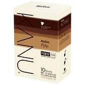 韓國 Maxim KANU雙倍濃縮拿鐵 漸層包裝 (13.5gx10入) 咖啡 沖泡飲品 條裝咖啡 速溶飲品【庫奇小舖】
