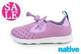 native APOLLO MOC 休閒鞋 童鞋 阿波羅 洞洞鞋 零碼出清 I9443#紫色◆OSOME奧森童鞋