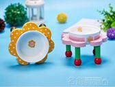 可愛日本小花碗寵物狗狗喂食盆高腳陶瓷碗架泰迪狗狗吃飯餐桌 名稱家居館